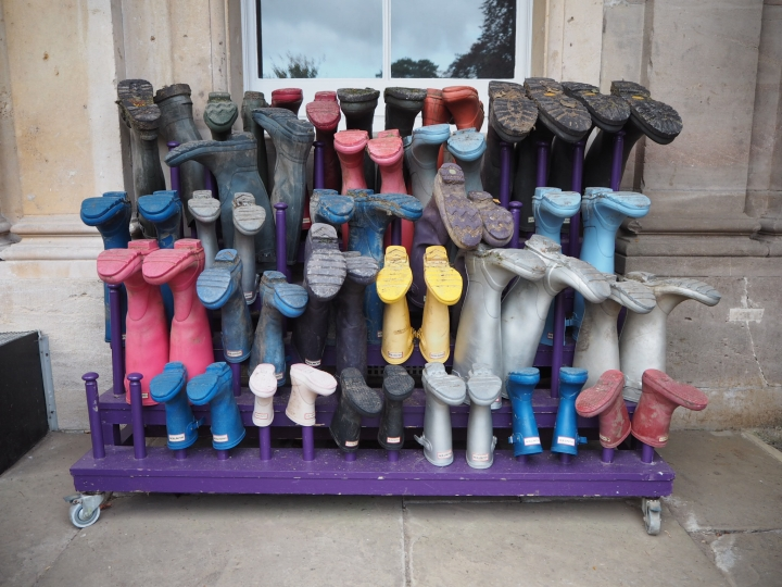 Wellies for Walking