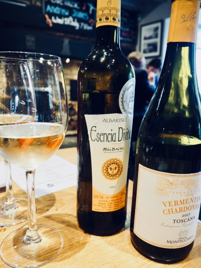 Wines paired with the starter
