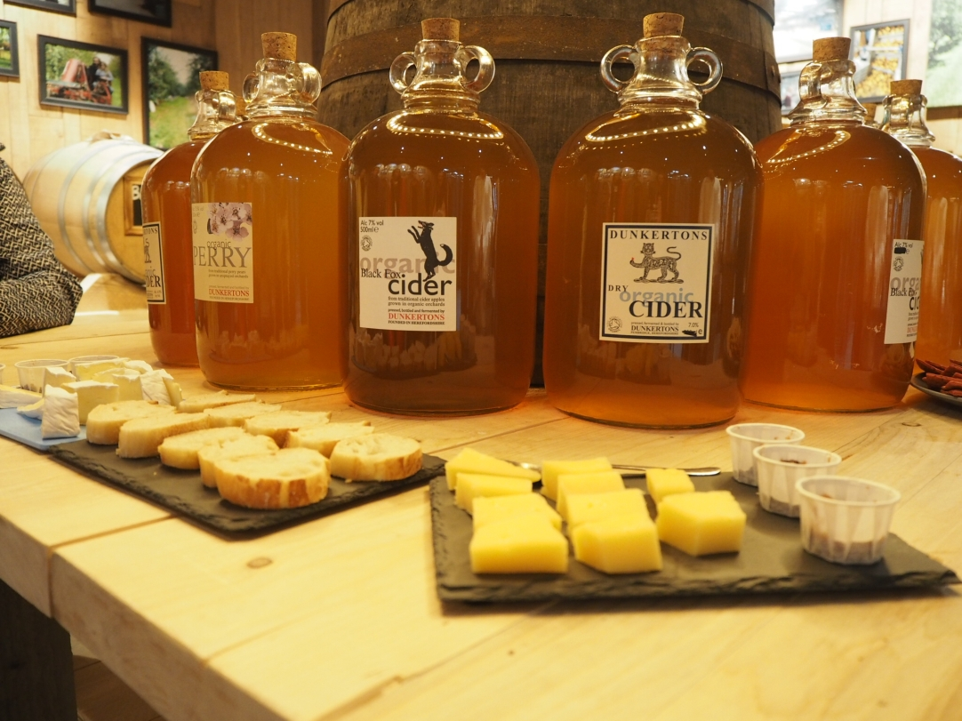 Cider & Cheese Tasting